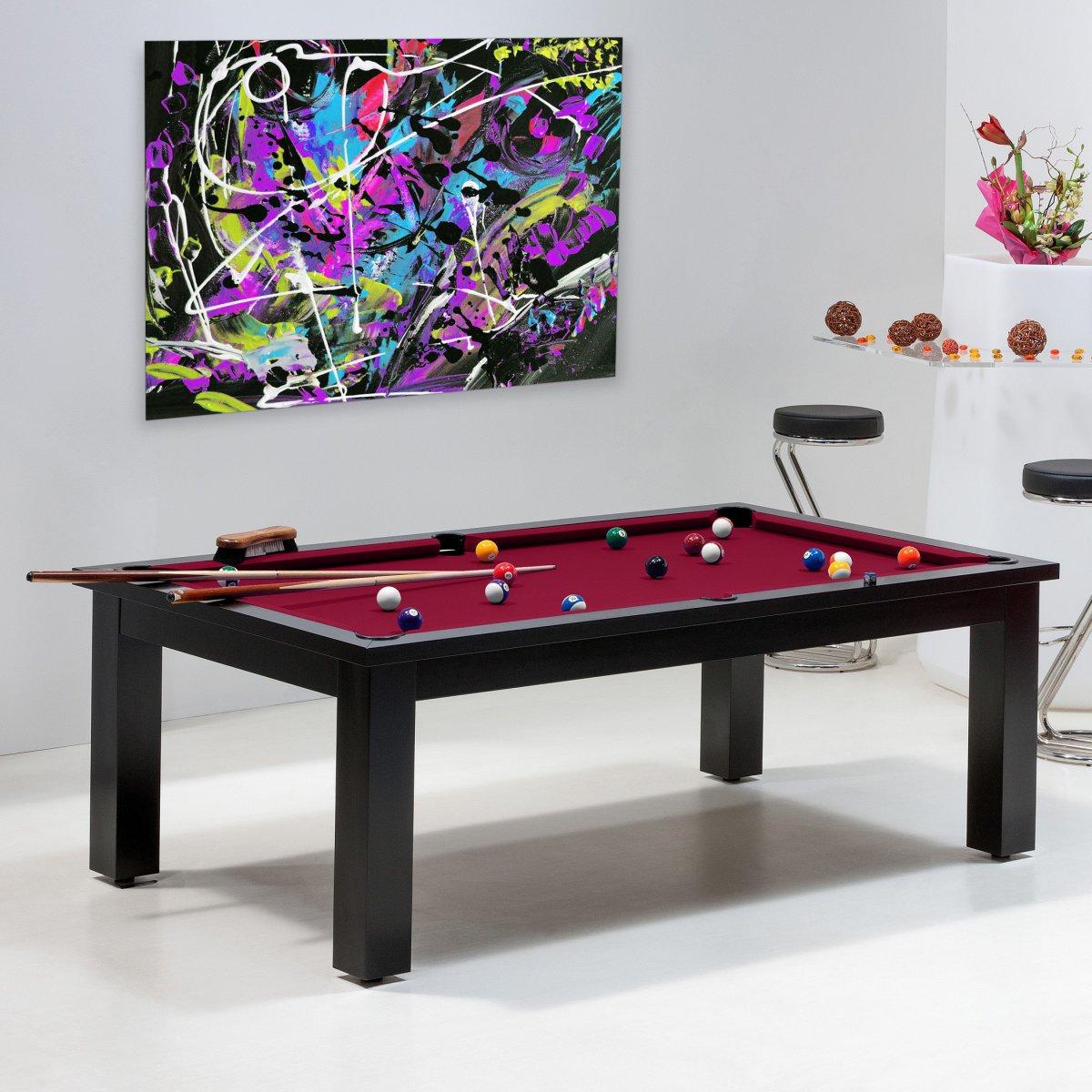 design  achat vente de billard table transformable en salon