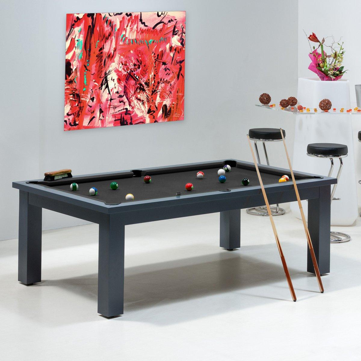 fabriquer un billard transformable en table systeme d. Black Bedroom Furniture Sets. Home Design Ideas