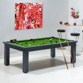 Billards - table et tapis vert pool