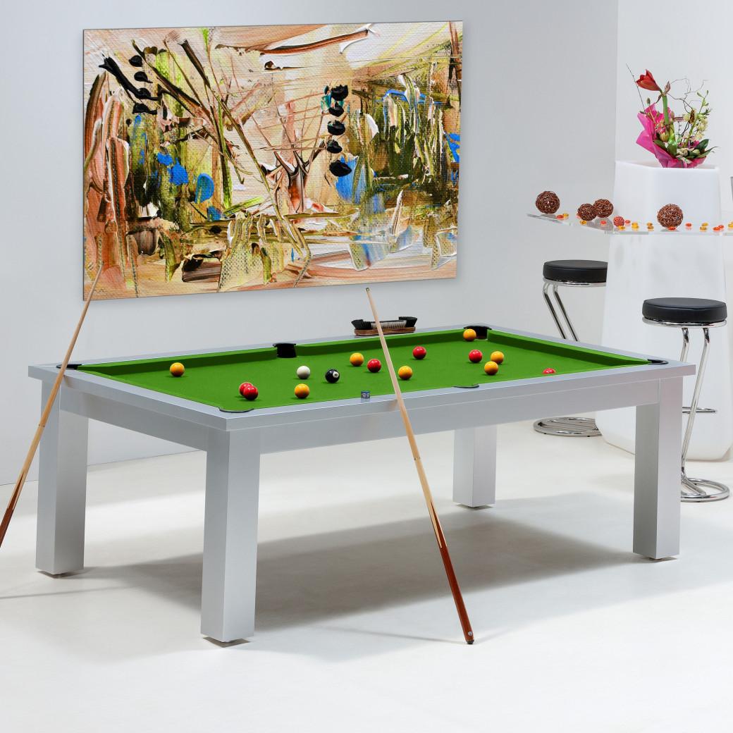 Table billard transformable - Billard vert pool