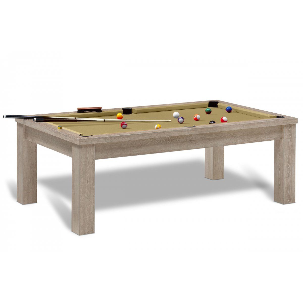Billard am ricain billard table personnalisable jeux us - Taille table billard ...