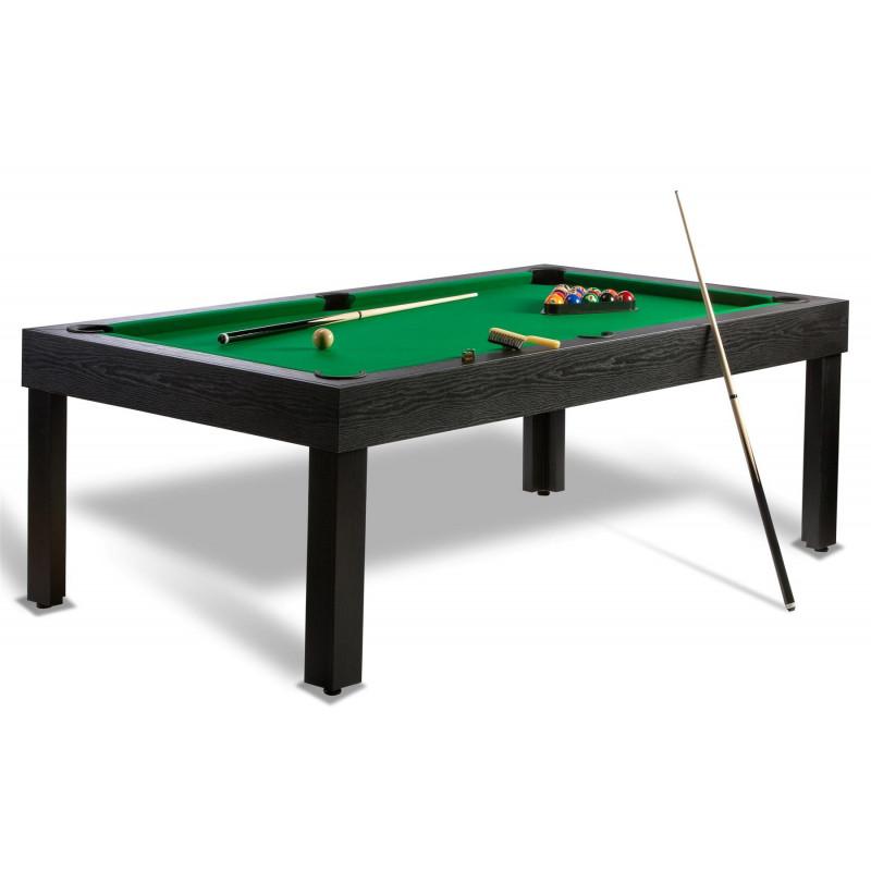 Billard americain us et billard pool convertible en table - Billard transformable en table ...