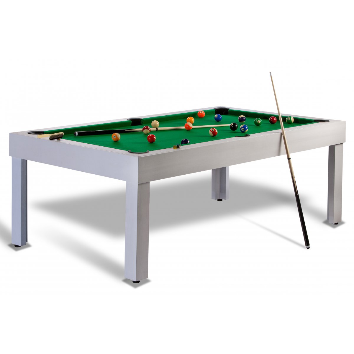 Billard americain us pool discount transformable en table - Salon americain ...