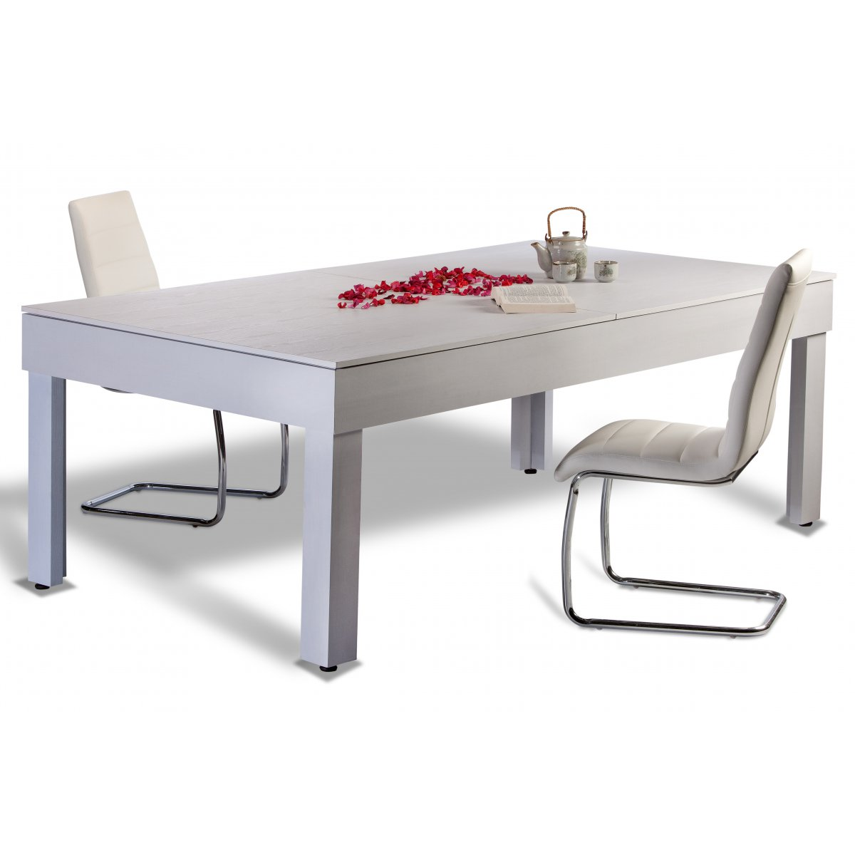 Table rabattable cuisine paris table salon transformable - Table basse convertible en table a manger ...