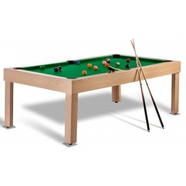 Billard discount transformable : Tahiti Chêne