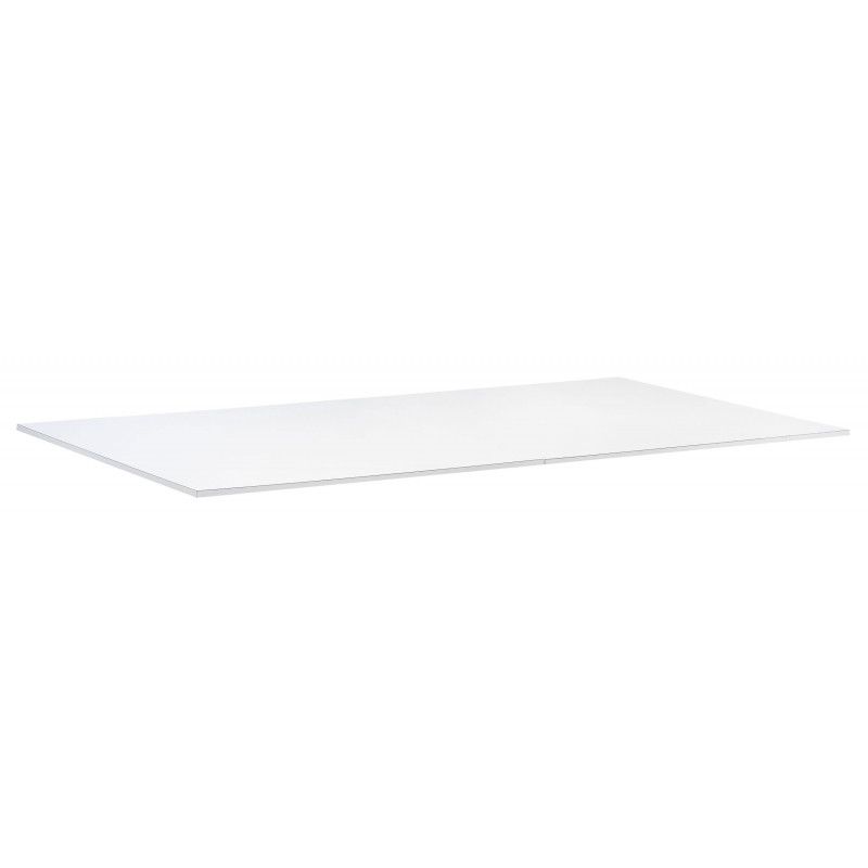Table billard transformable : le dessus de table bois blanc
