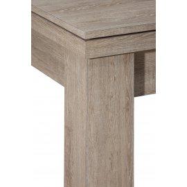 Billard convertible table en détail avec le plateau en chêne naturel