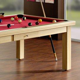 Table billard transformable, en bois