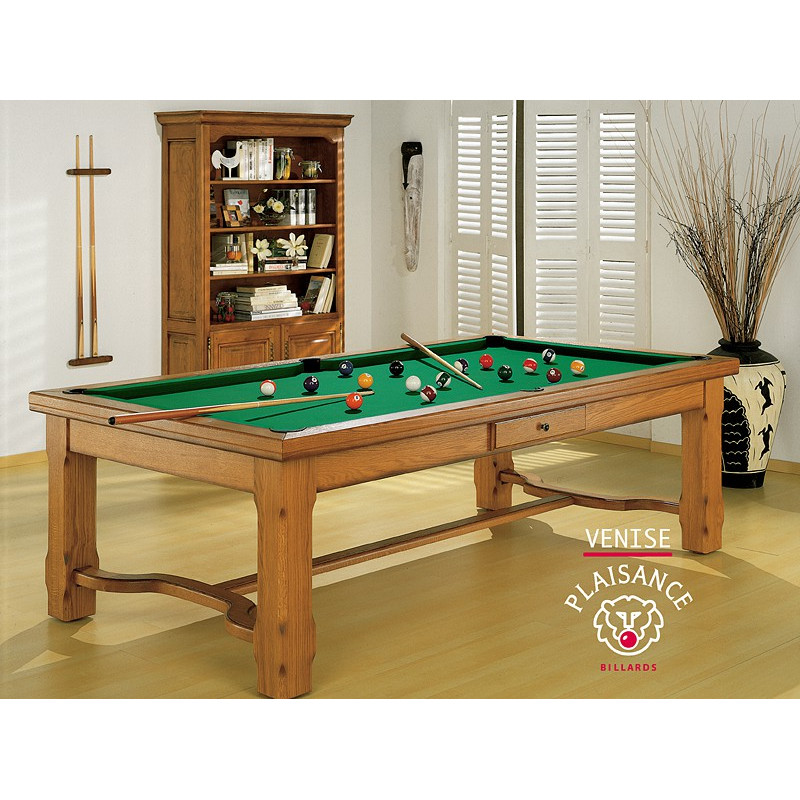 Billard table a manger venise prestige for Table billard convertible belgique