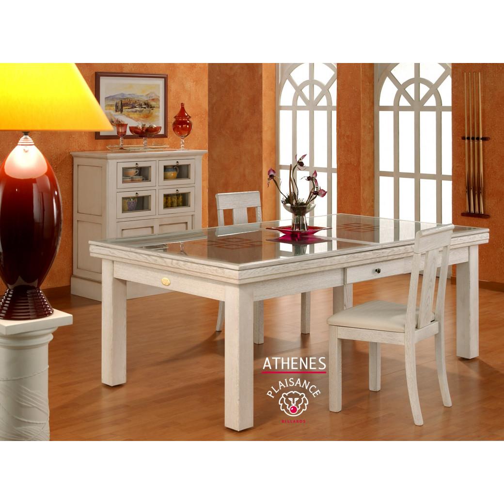 Table billard transformable, modèle Athènes de la gamme Prestige