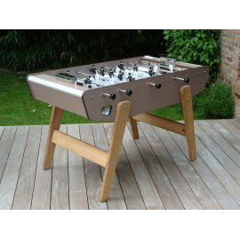 Baby-foot OUTDOOR : Home taupe de Stella