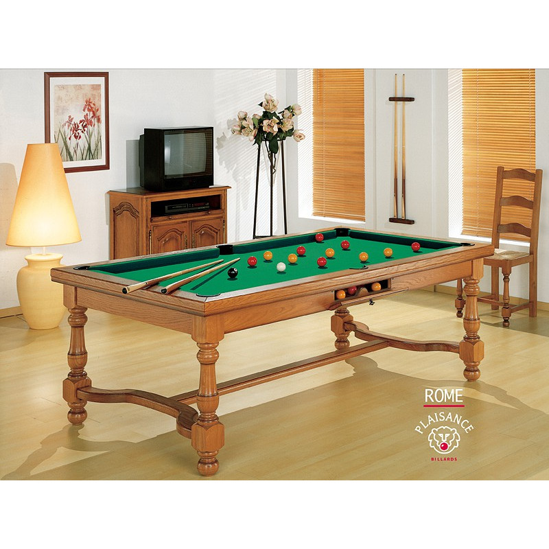 table billard convertible rome billard haut de gamme. Black Bedroom Furniture Sets. Home Design Ideas