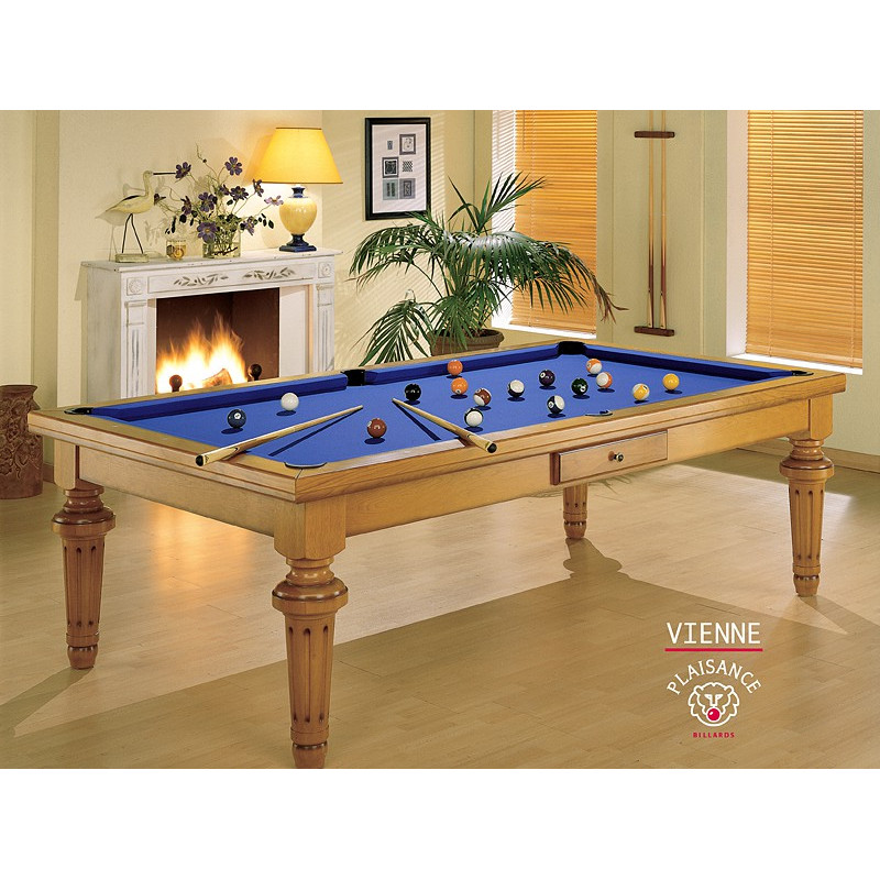 Table billard convertible vienne de luxe for Table a manger billard