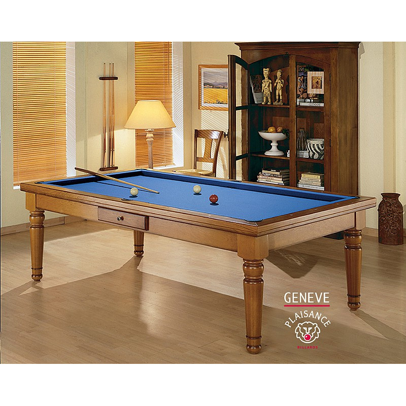 Table billard convertible gen ve billard de luxe - Billard convertible table ...