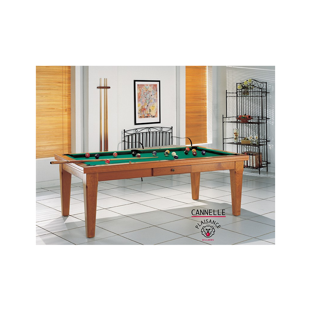 Table billard convertible : Cannelle