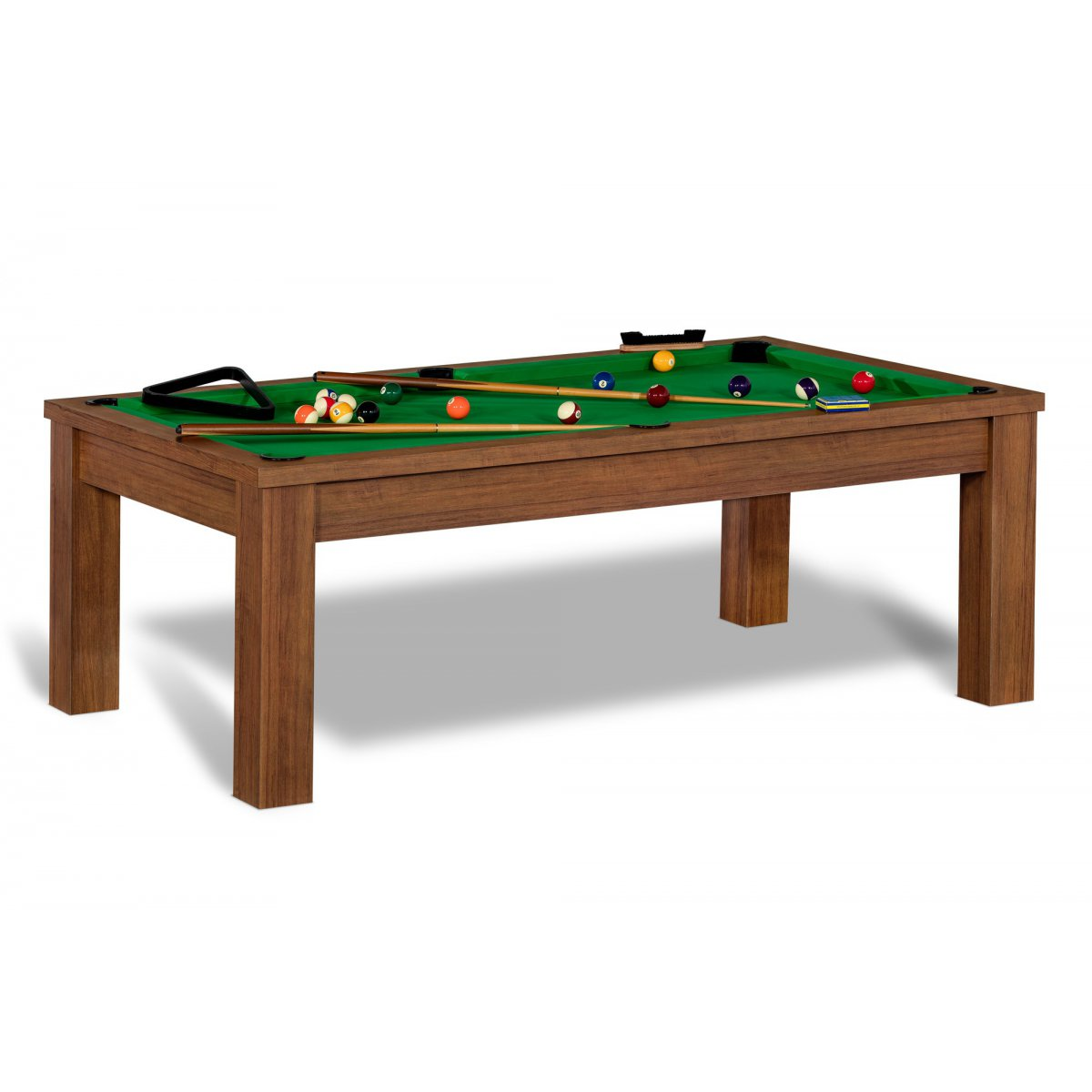 Table billard convertible billard anglais 8 pool et - Table billard transformable occasion ...