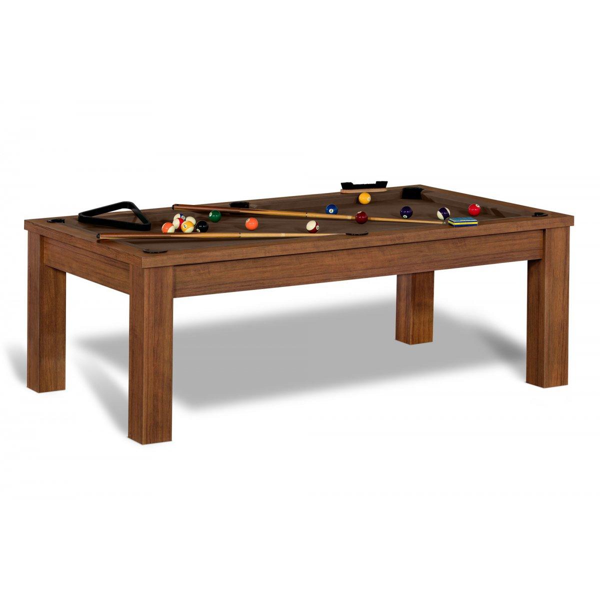 Table billard convertible billard anglais 8 pool et - Billard transformable en table ...