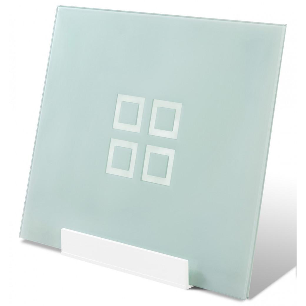 Plateau table billard en verre avec rangement