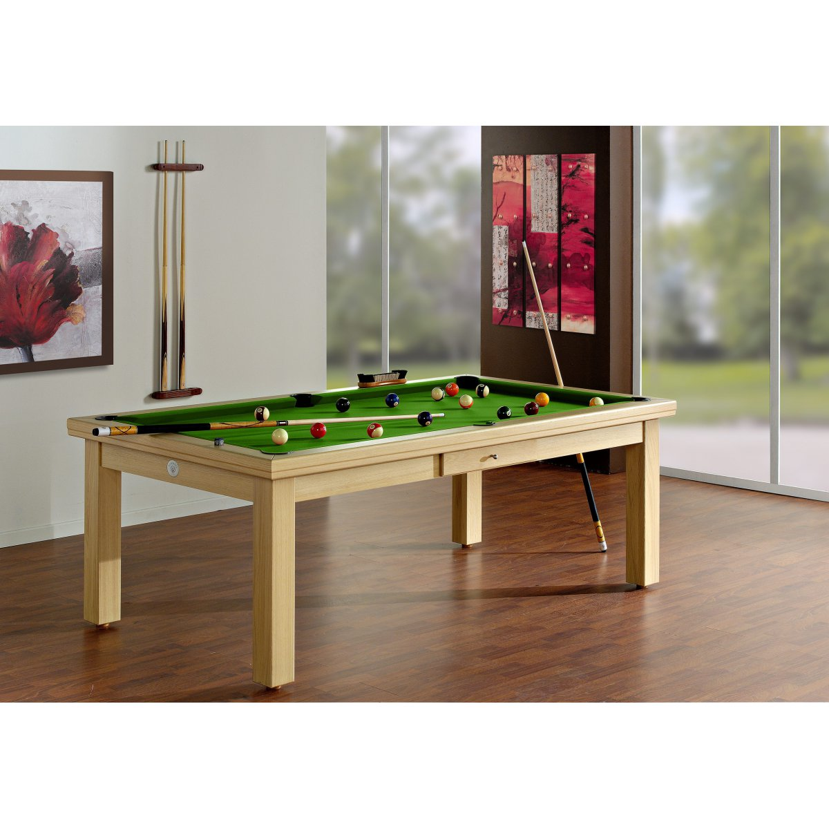 table manger billard mod le sydney prestige. Black Bedroom Furniture Sets. Home Design Ideas