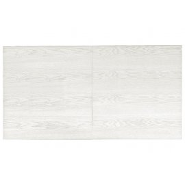 Plateau de billard bois blanc ciré avec allonge pour table billard convertible