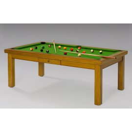 Billard achat billard convertible billards de france - Billard et table a manger ...