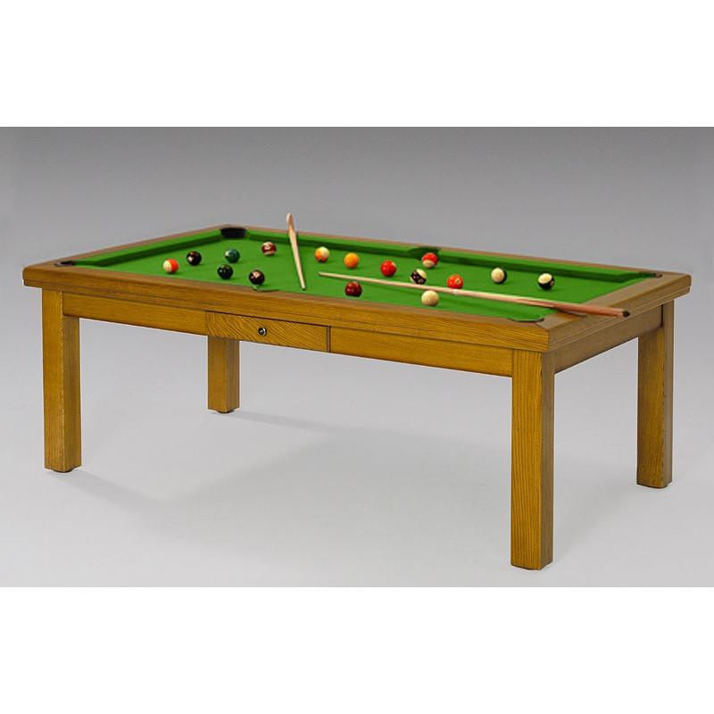 Table billard convertible florence de luxe - Table de billard transformable en table de salle a manger ...
