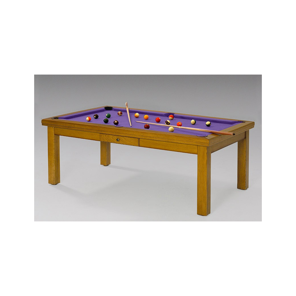 Table billard, drap de billard violet fashion