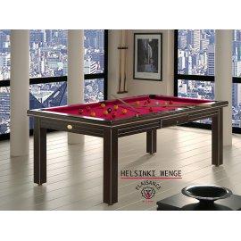 Acheter billard, table noire et tapis rouge pour billard de luxe