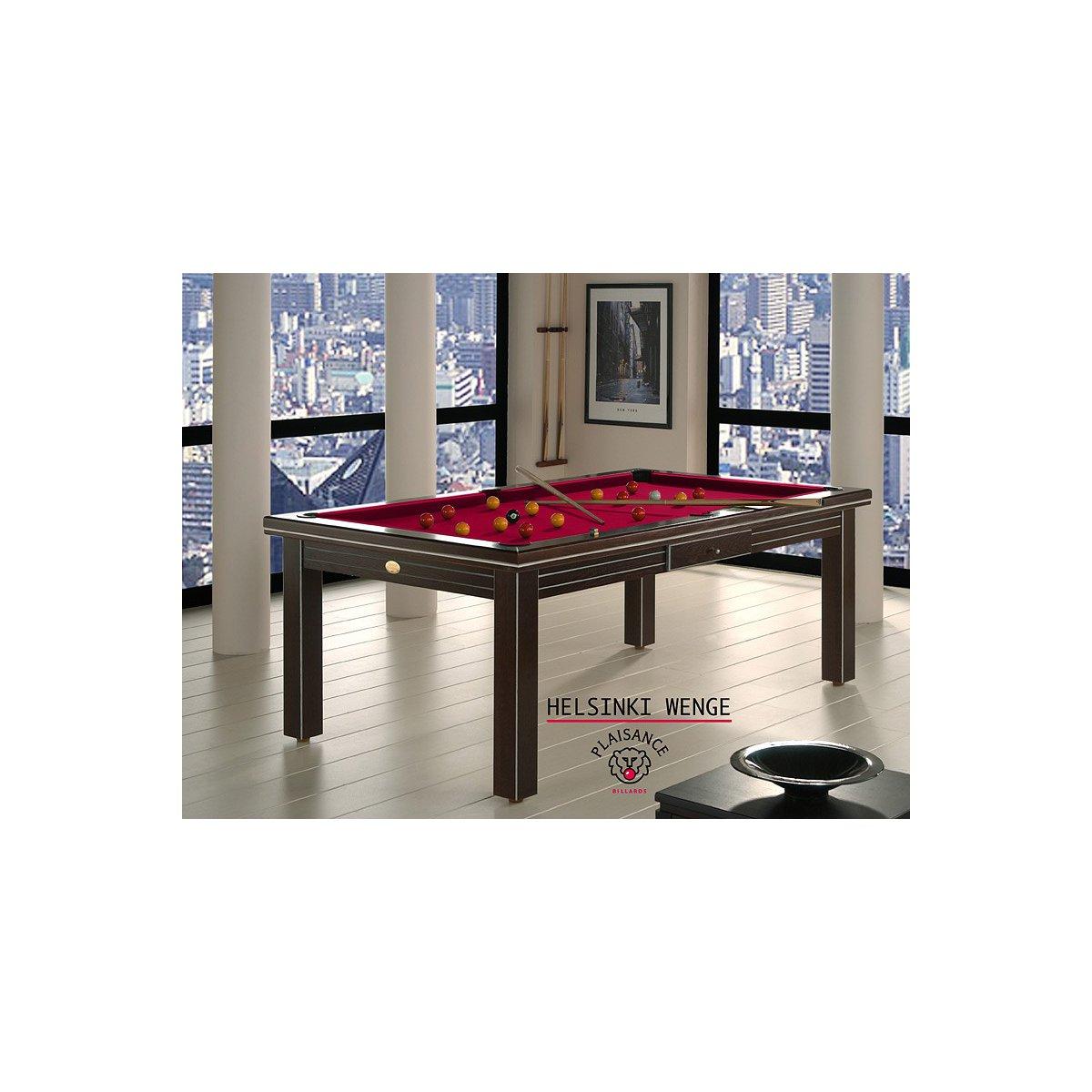 billard de luxe  table helsinki wenge