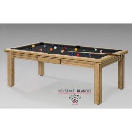 Acheter une table de billard : avec un tapis couleur noir