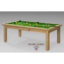 Billard dinatoire, la table idéale pour prendre un dîner puis jouer sur un billard vert pool