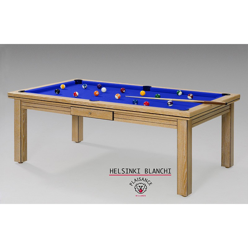 Table billard convertible helsinki blanchi prestige for Table billard convertible belgique