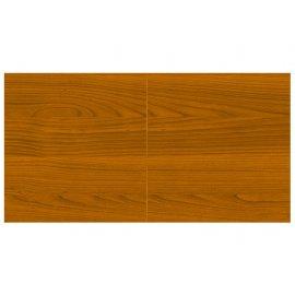 Table billard transformable, en bois Merisier 2 plateaux