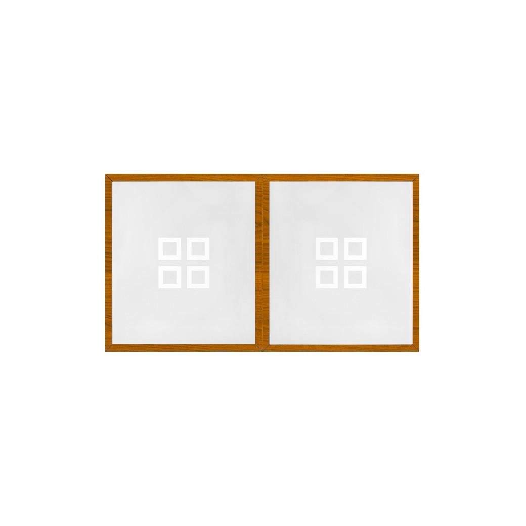 Table billard convertible, plateau billard bois merisier  et verre