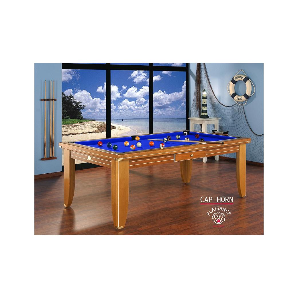 Table de billard haut de gamme: bleu royal, une couleur lié aux rêves et à la richesse