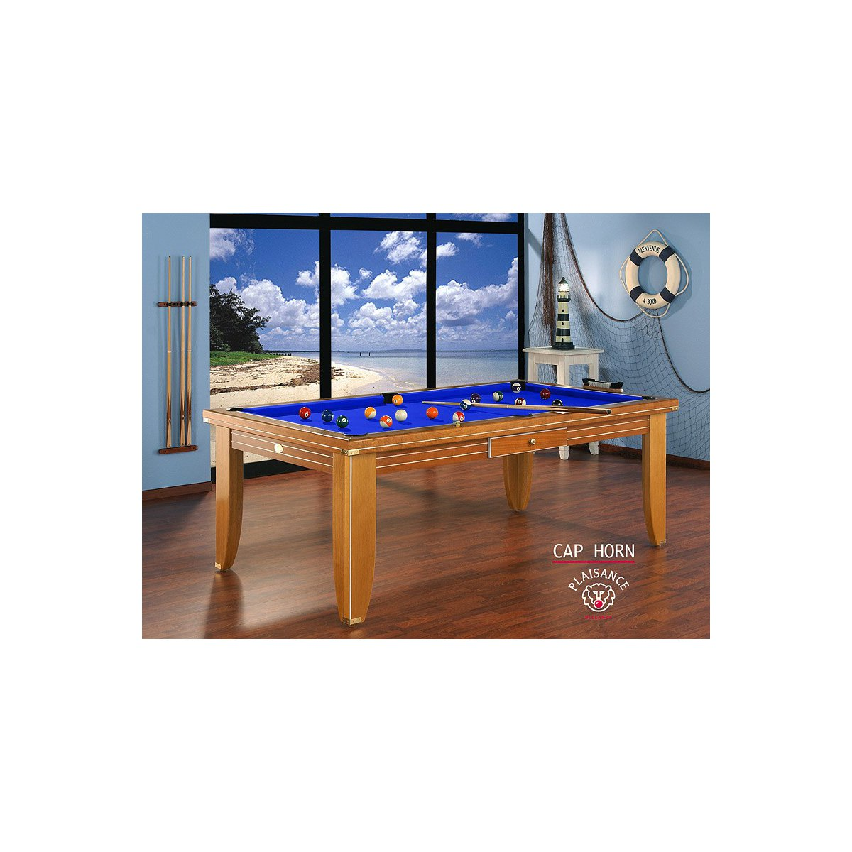 Emejing table billard transformable contemporary for Table a manger billard