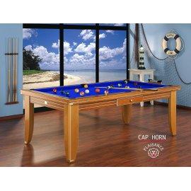 Billard bleu, tapis bleu pool