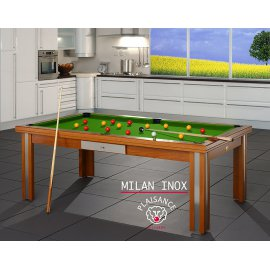 Acheter table de billard, avec tapis vert pool élégant