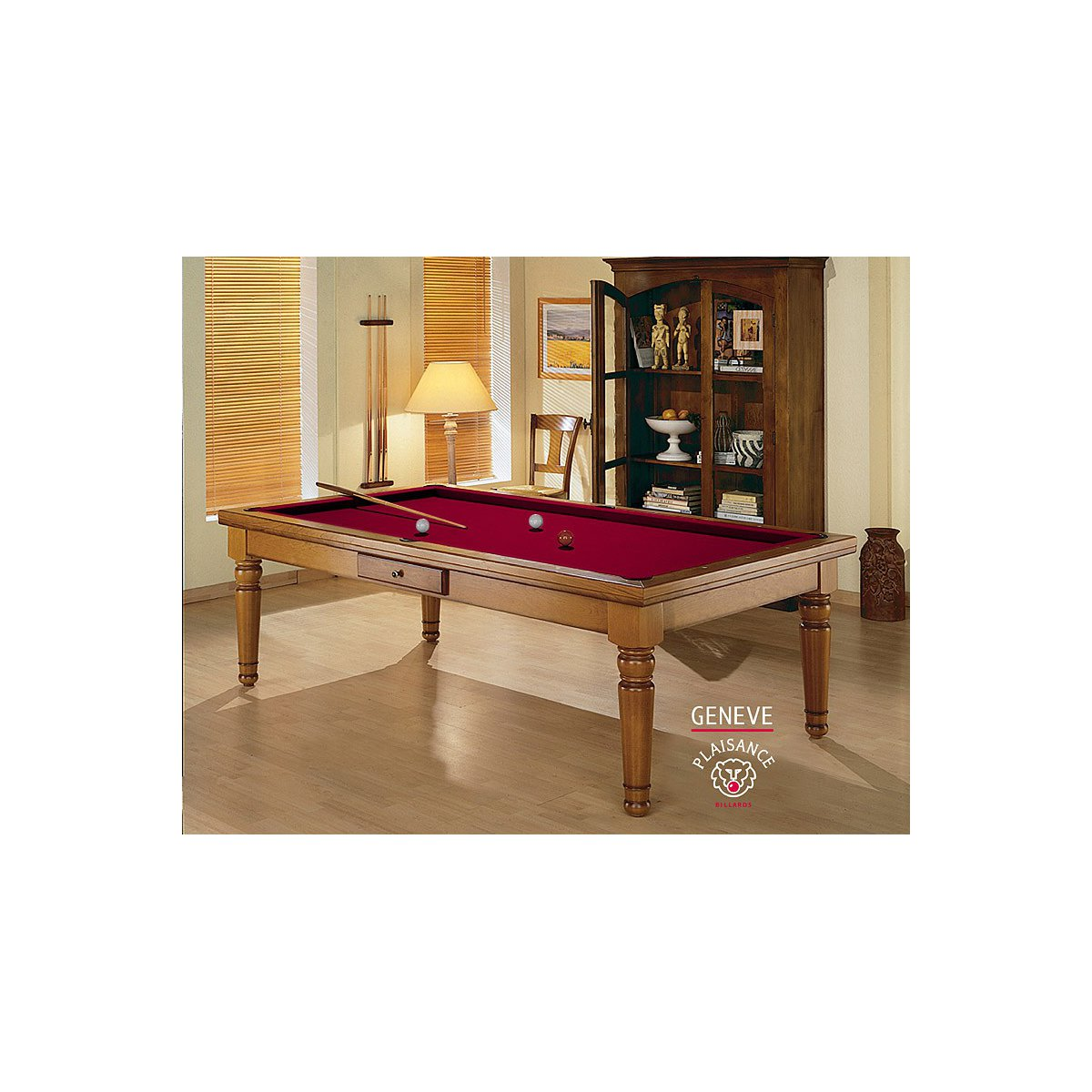 Table Billard Convertible Gen Ve Billard De Luxe