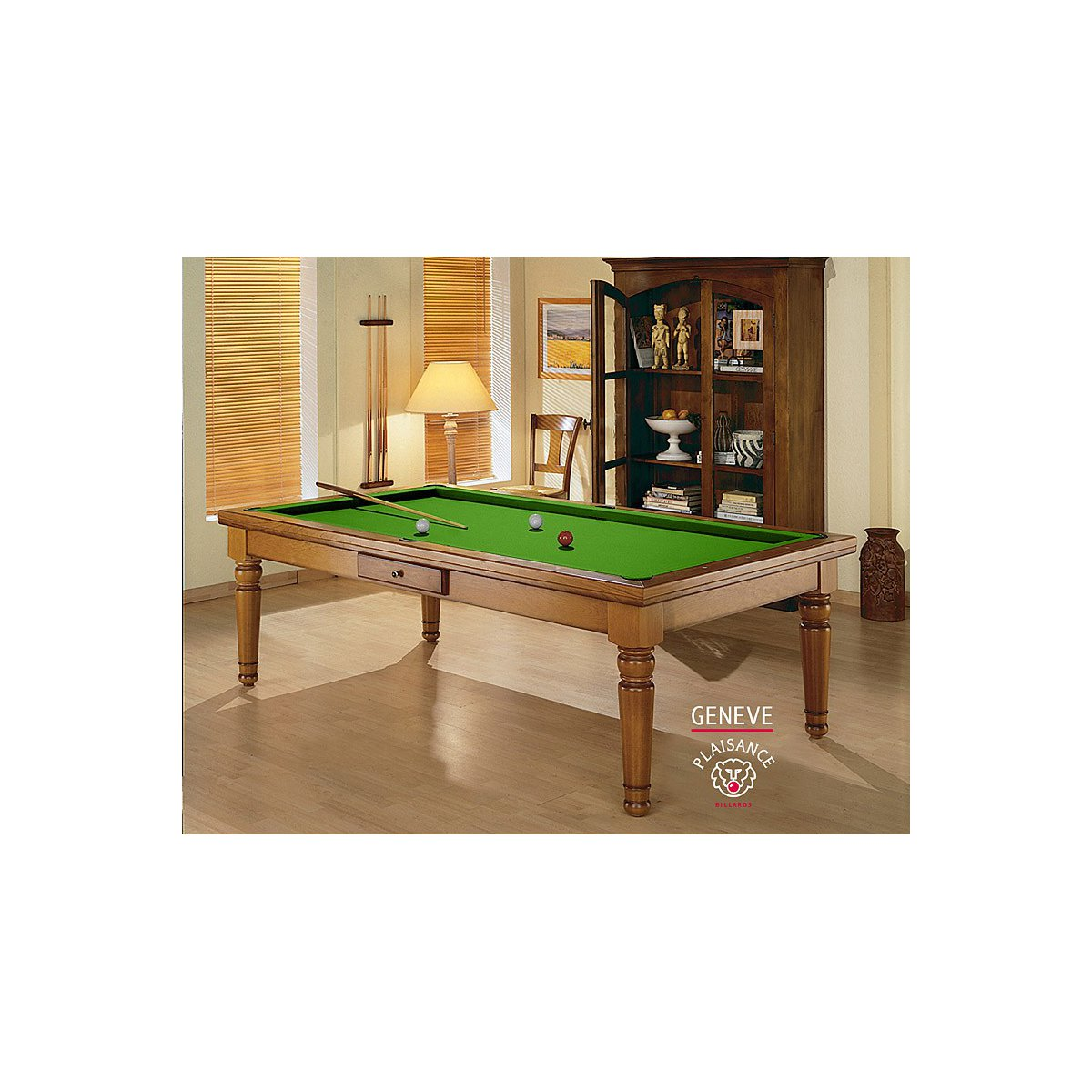 table billard convertible gen ve billard de luxe. Black Bedroom Furniture Sets. Home Design Ideas