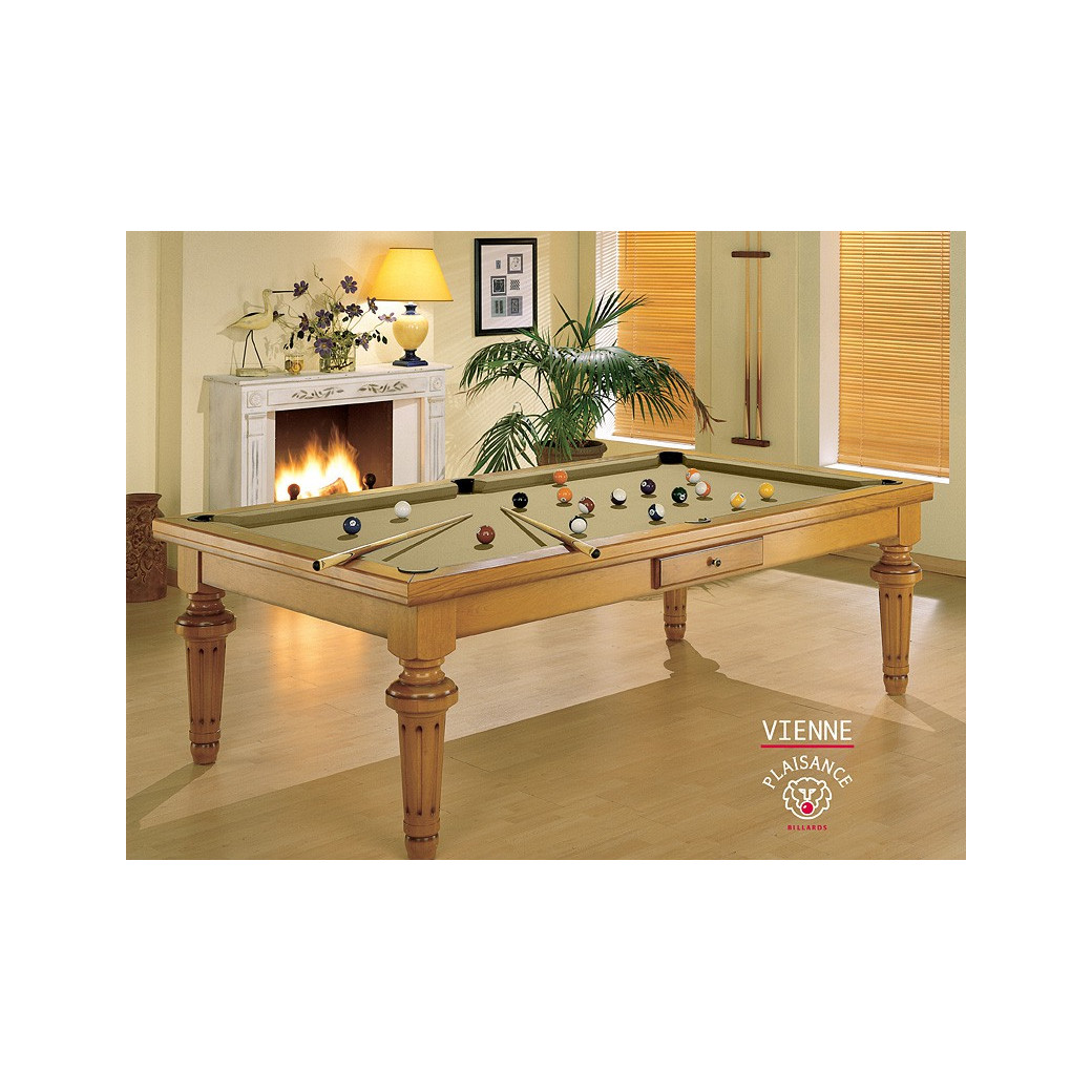 Table billard convertible : Vienne de luxe