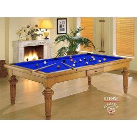 8 pool, billard anglais (fr et/ou us) avec tapis bleu pool