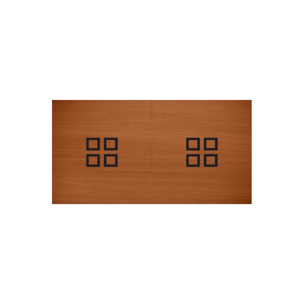 Billard table a manger : Le plateau table billard en bois en 2 parties convertible