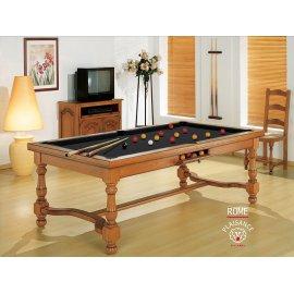 Table de billard, tapis Simonis noir (couleur chic)