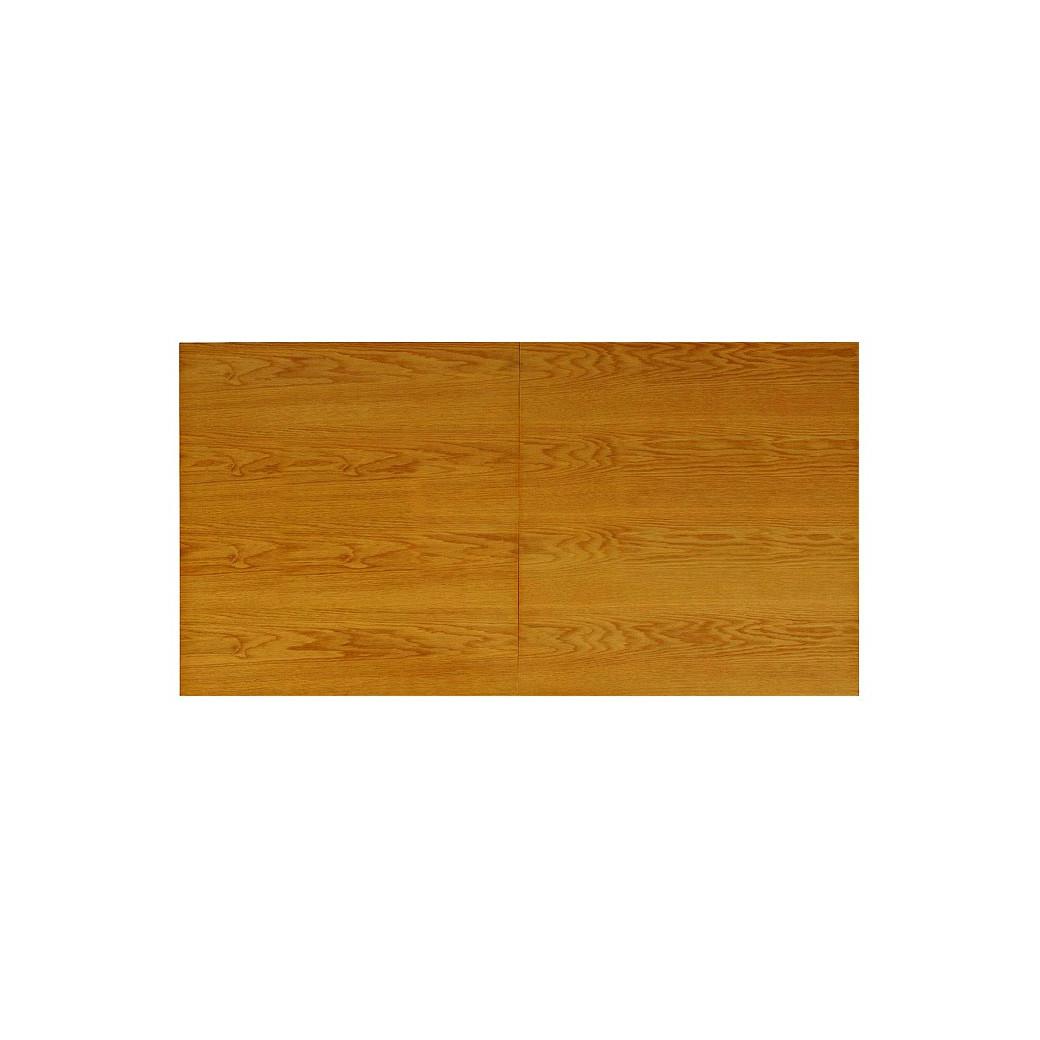 Table billard convertible, le plateau en Chêne teinté N°1 avec allonge