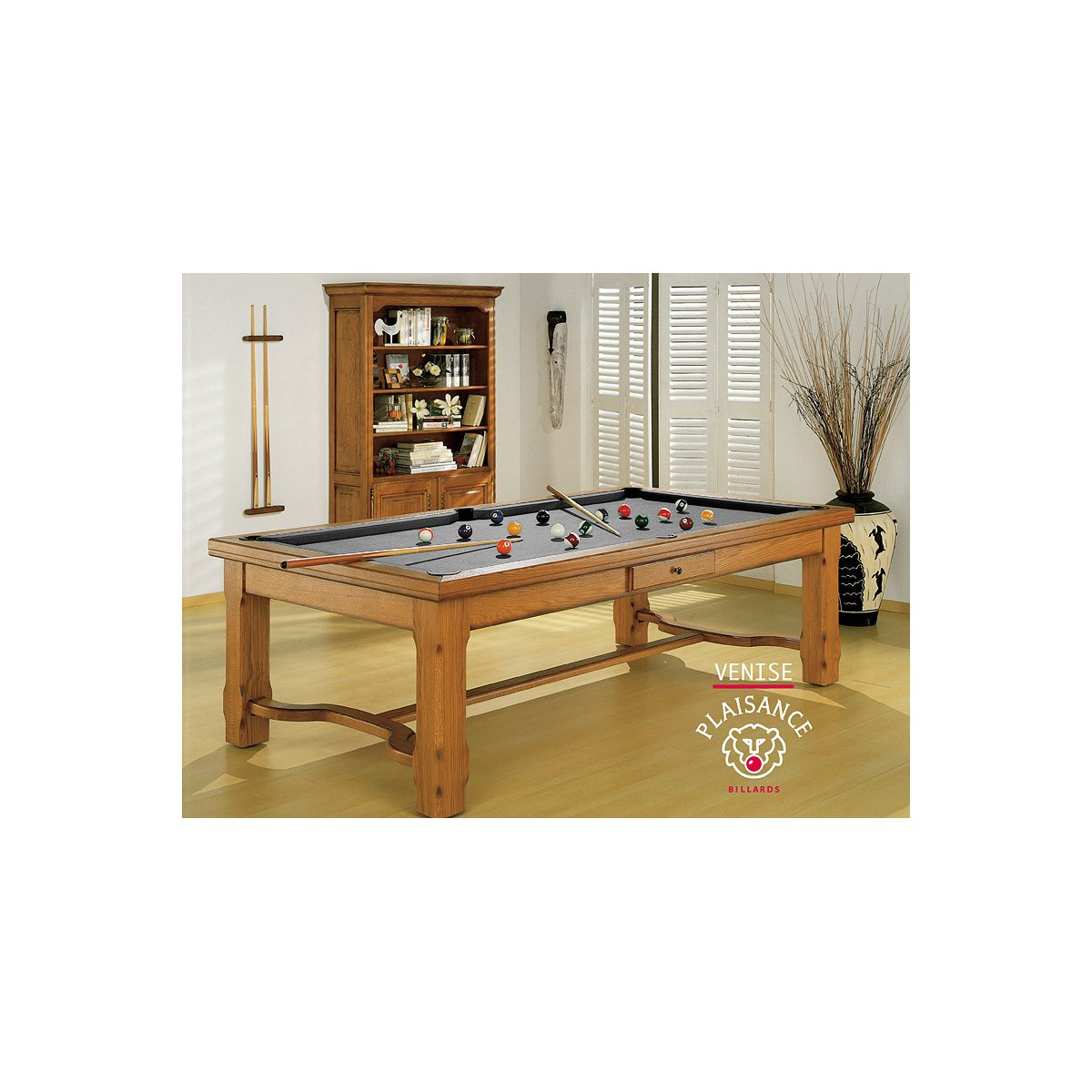 Billard table a manger venise prestige - Table de billard convertible table a manger ...