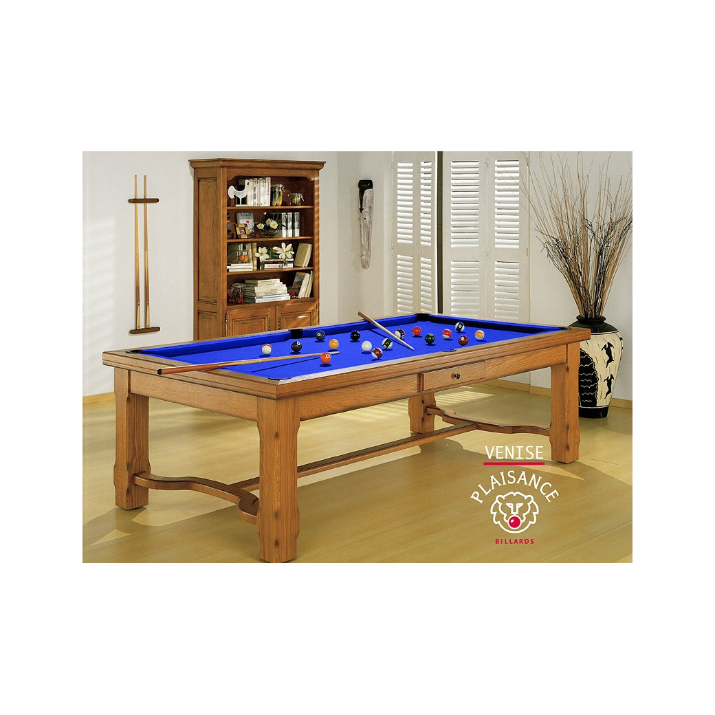 Billard table : drap Simonis bleu royal chic