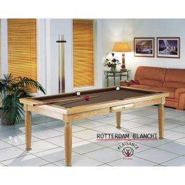 Billard table a manger, tapis billard couleur chocolat
