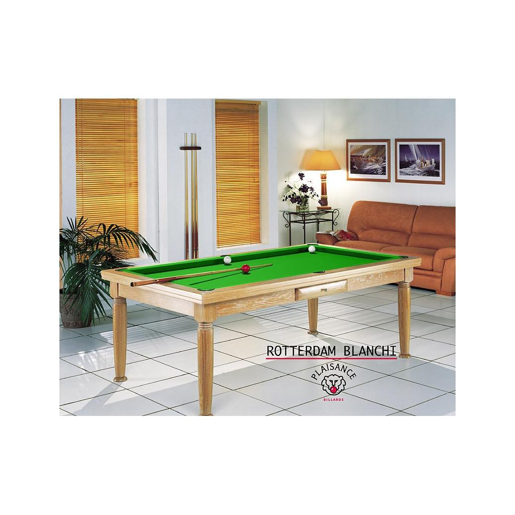 Billard table, et son superbe tapis vert pomme flashy