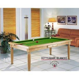 8 pool : billard table a manger et son tapis vert pool
